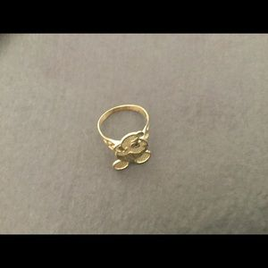 Mickey Mouse Head Ring - Size 5